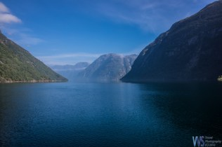 And our destination - the world famous Geiranger fjord!